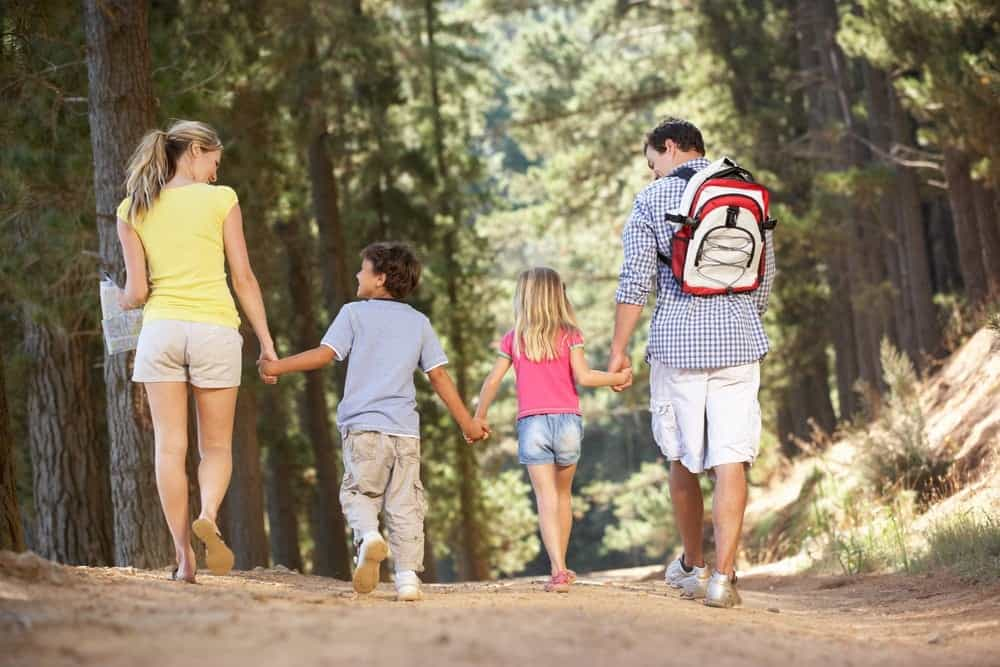 Families Enjoy Fun, Educational Gatlinburg Trail Hike