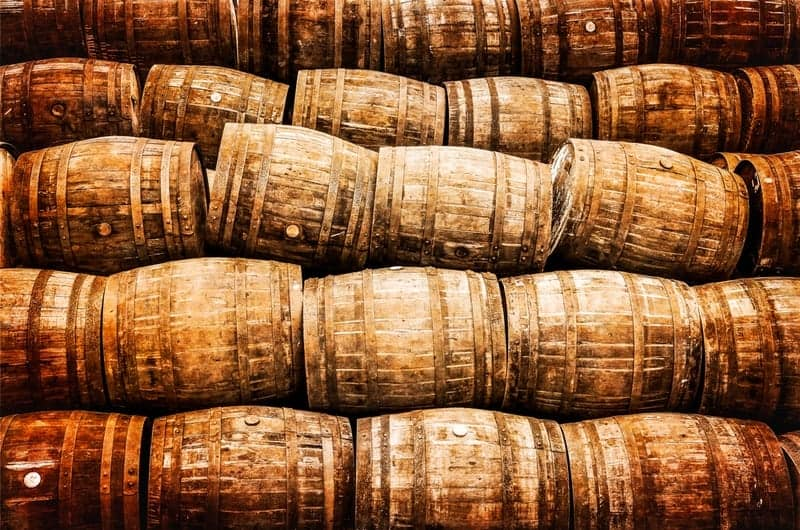 Moonshine barrels