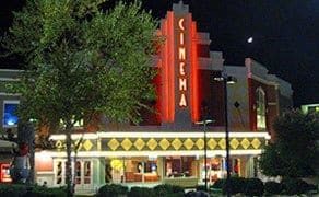 The Forge Movie theater in Pigeon Forge Tennessee