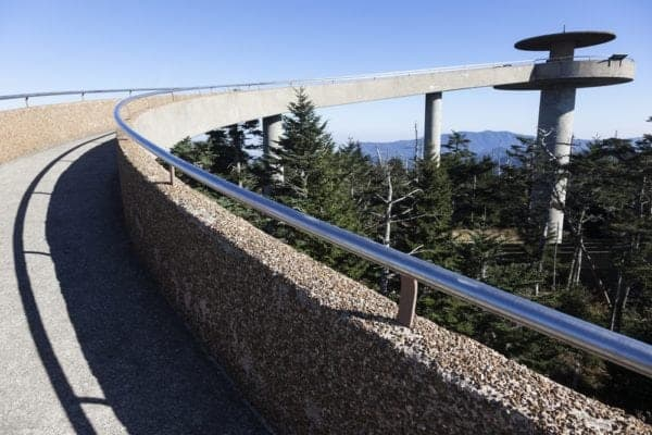Clingmans Dome in the Smoky Mountains