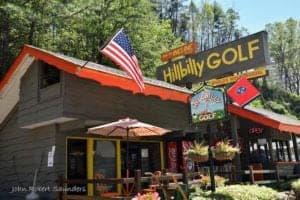 Hillbilly Golf in Gatlinburg Tennessee