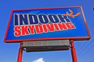 Flyaway Indoor Skydiving in Pigeon Forge.