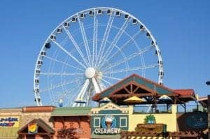 island in pigeon forge wheel