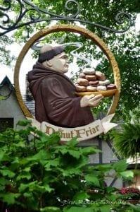 donut friar sign