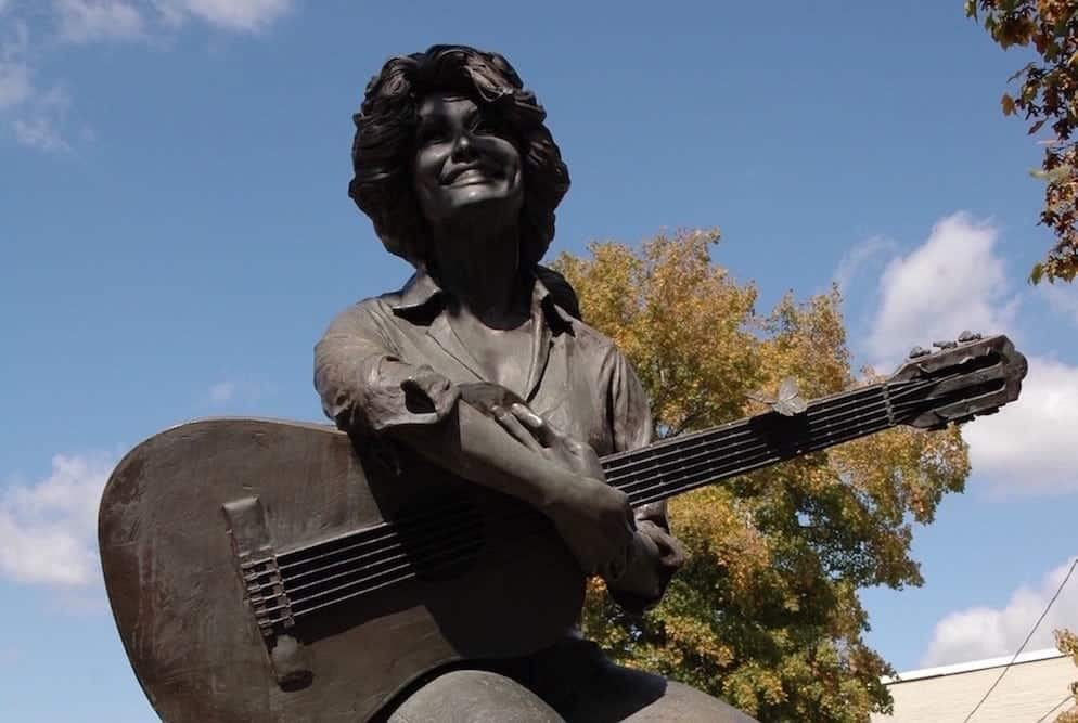 The History of the Dolly Parton Statue in Sevierville