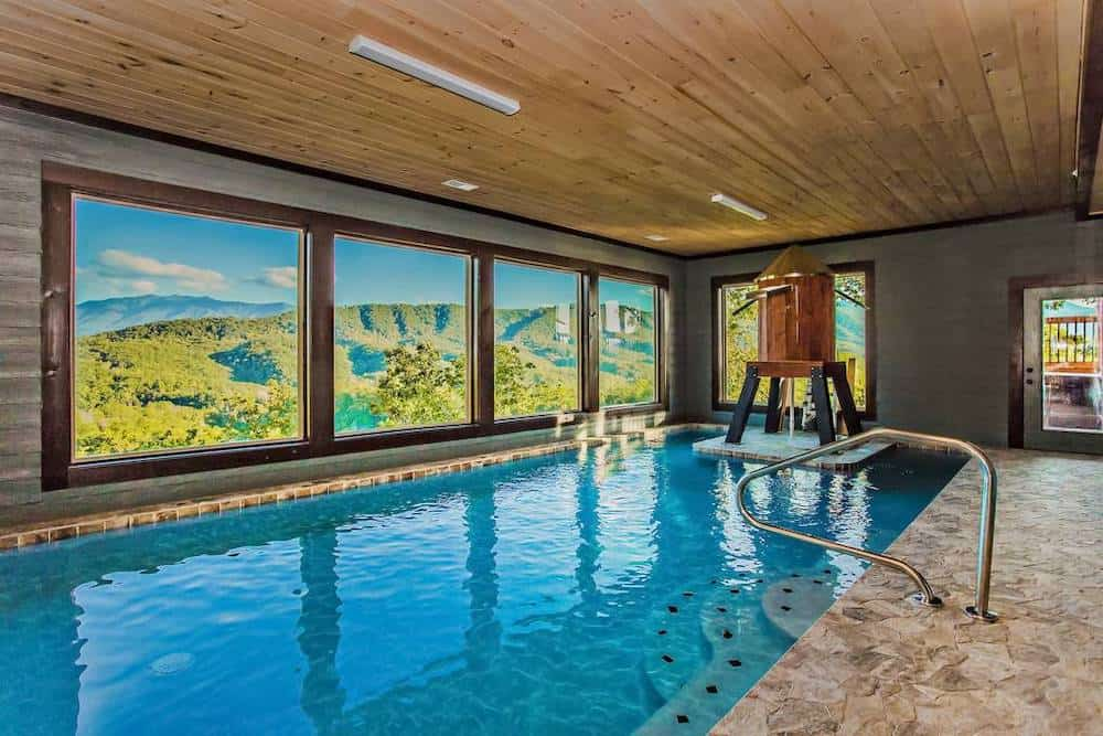 4 Incredible Gatlinburg Cabins With Indoor Pools and Home Theaters