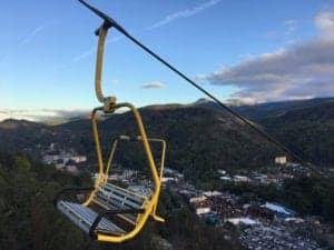 yellow chair gatlinburg skylift