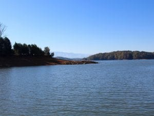 view of douglas lake tn